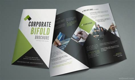 26 Best And Creative Brochure Design Ideas For Your Inspiration Corporate Brochure Design Templates