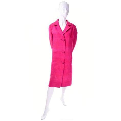 Jaket Hk Pink 1960s pink silk vintage evening coat haz ls exclusives
