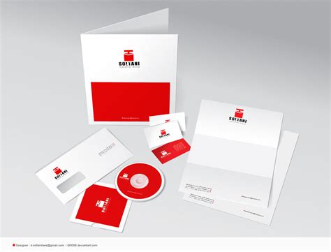 business cards envelopes letterhead cd and by