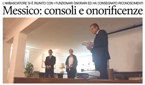 consolati onorari in italia puntodincontro mx busacca incontra i consoli onorari e