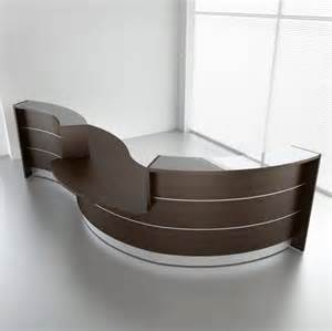 Reception Desk Curved Valencia Curved Reception Desk 3