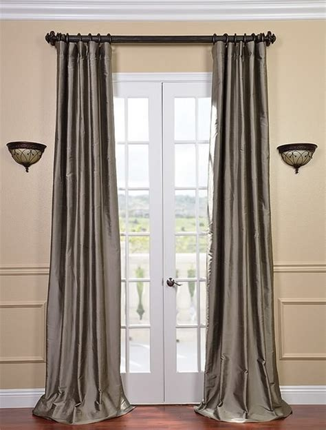 grey silver curtains silver grey thai silk curtains traditional curtains