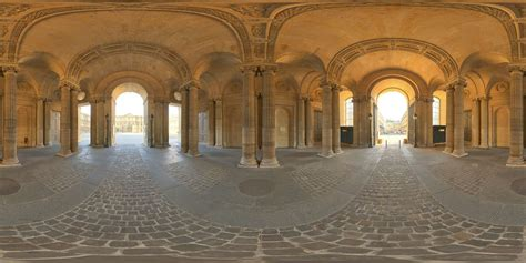 hdr panorama  renaissance interior  hdri light probe