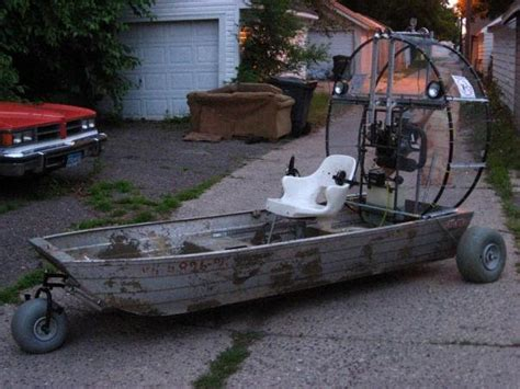 airboat build build your own airboat boat plans blog
