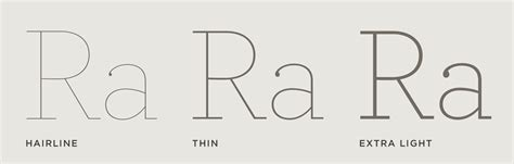 typography hairline archer font features hairlines hoefler co