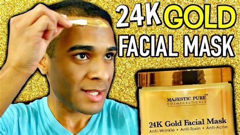 Masker Bubuk Emas Mask Gold 24k 24k gold mask blair thompson