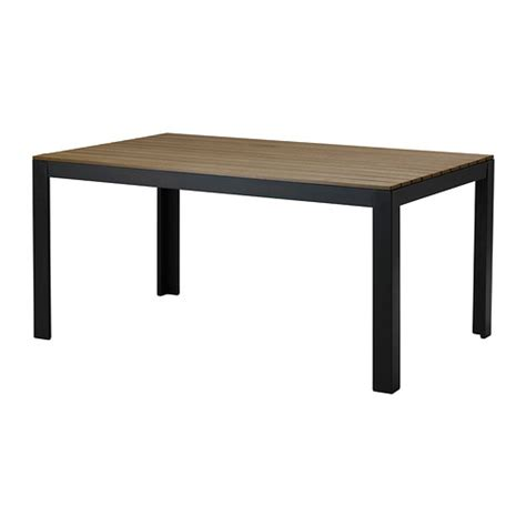 Ikea Outdoor Dining Table Falster Table Outdoor Black Brown Ikea