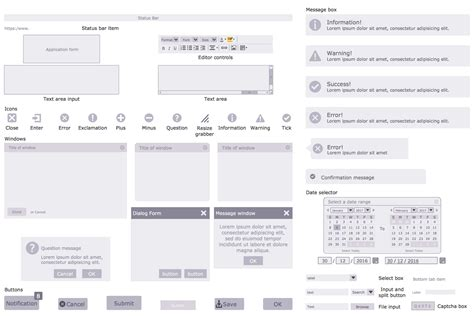 layout form elements website wireframe solution conceptdraw com