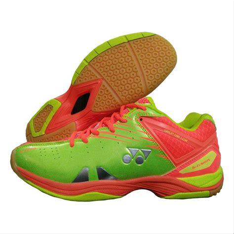 Sepatu Badminton Yonex Srcp 01r Lcw Lime Green Original yonex srcp 01r lcw badminton shoes orange and lime green