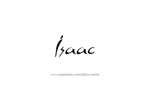 isaac tattoo designs isaac prophet name designs tattoos with names