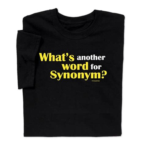 wear clever another word synonym t shirt