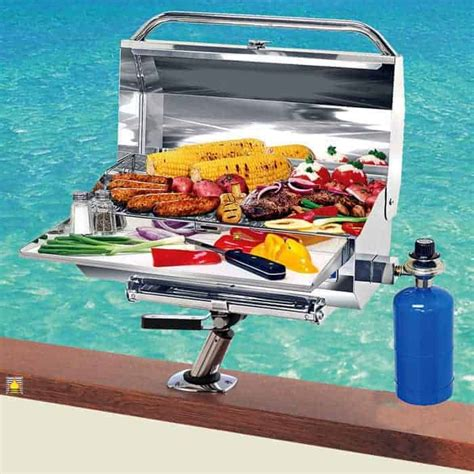 boat grill stand father s day gift ideas