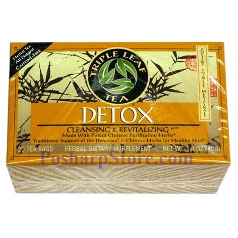 Detox Cleansing And Revitalizing Tea by Leaf Detox Cleansing Revitalizing Herbal Tea 20