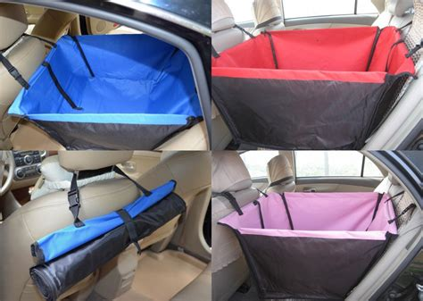 Nextbase Sdv49ac Car Back Seat small puppy pet car back seat booster hammock barrier cover 8 colors in carriers from