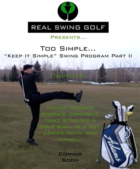 simple swing program instruction videos welcome to real swing golf