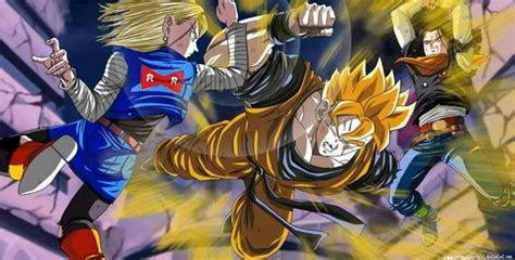 trunks vs androids future gohan vs android 18 17 z android 18 the o jays and android