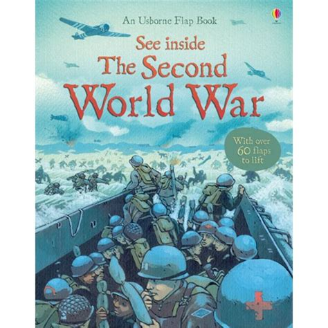 libro the second world war usborne see inside the second world war flap book
