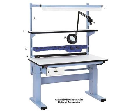ergonomic work benches adjustable height workbenches