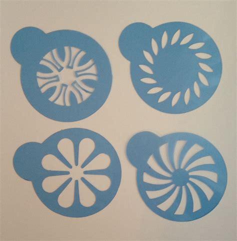cookie stencils cookie stencil decorating flower geometric design cake