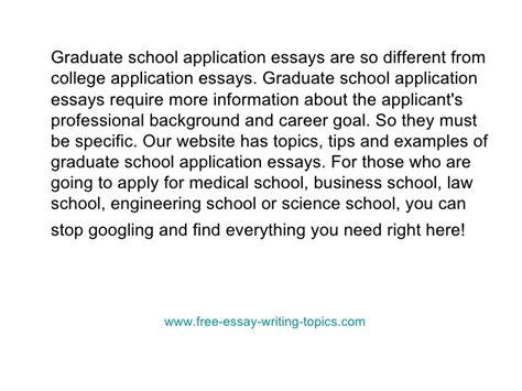 graduate school essay samples graduate school admission essay top