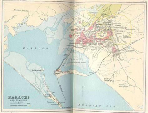 where is karachi on the world map constable1893