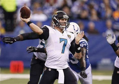 Jaguars Quarterbacks 2014 Jacksonville Jaguars Quarterbacks What To Do With Chad Henne
