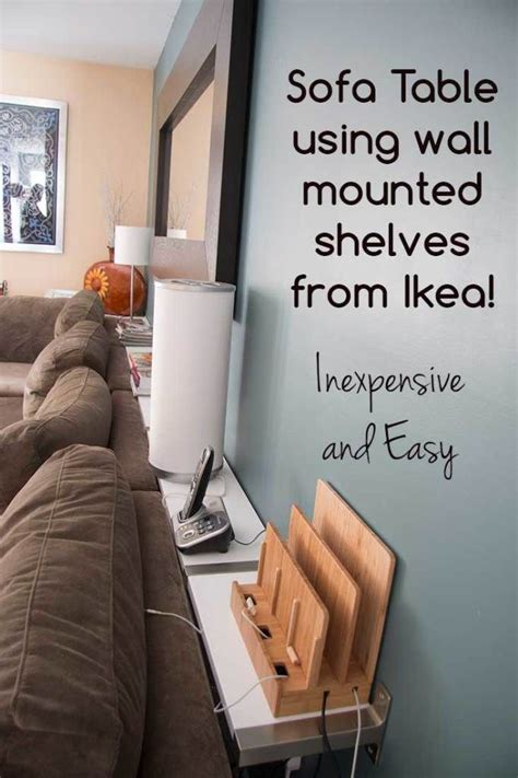 table between couch and wall best 25 shelf behind couch ideas on pinterest behind