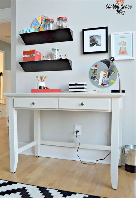 Bright Colored Desk Accessories by A Modern Bright Colorful Playroom Makeover Hometalk