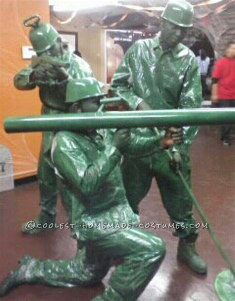 coolest plastic toy soldiers group halloween costume