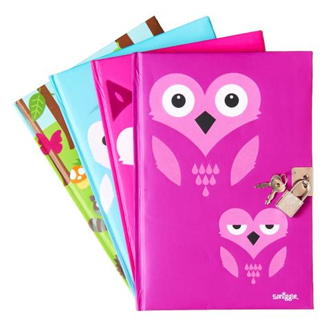 smiggle blue a5 gift pack a5 zoo lockable notebook smiggle mali s pins
