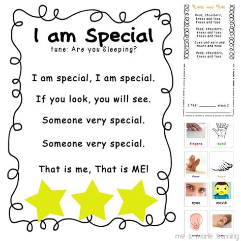 I Am Beautiful Because Card Template by Quot All About Me Quot Free Printables And Activities For Back To