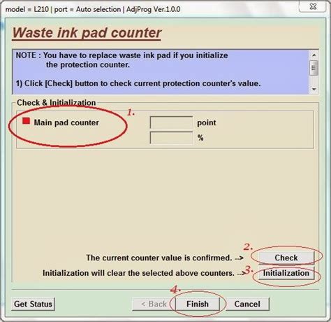 how to reset waste ink pad counter canon mp287 epson reset ink pad