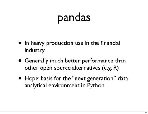 pandas for everyone python data analysis wesley data analytics series books a look inside pandas design and development