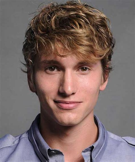 mens hairstyles  thick wavy hair mens hairstyles