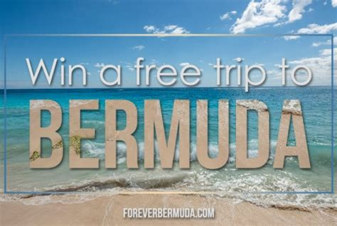 Free Trip Sweepstakes - specials deals archives forever bermuda
