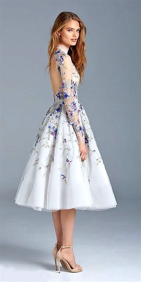 Wedding Flower Dresses by 25 Best Ideas About Floral Wedding Dresses On
