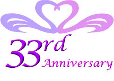 33rd wedding anniversary gift ideas   Perfect 33rd