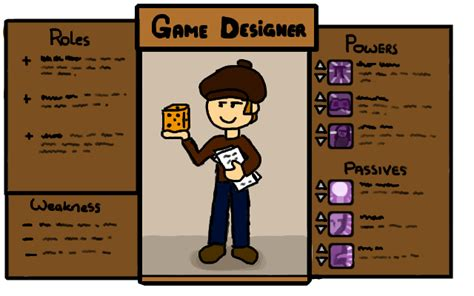 Game Design Skills | game design the designer class what skills does he use