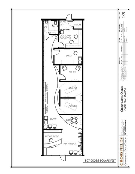 chiropractic office floor plan chiropractic floor plan semi open adjusting retail start