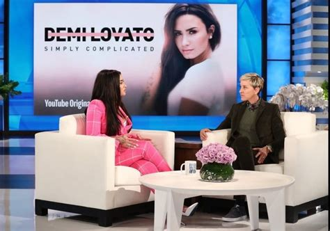 ellen degeneres interviews 2018 watch demi lovato perform tell me you love me play