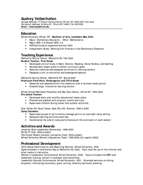 10 child care resume objective examples cio resumed