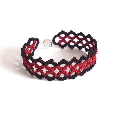 Lace Bracelet lace bracelet in tatting on luulla