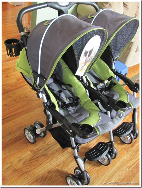Double Stroller Giveaway - combi twin cosmo double stroller strollers 2017