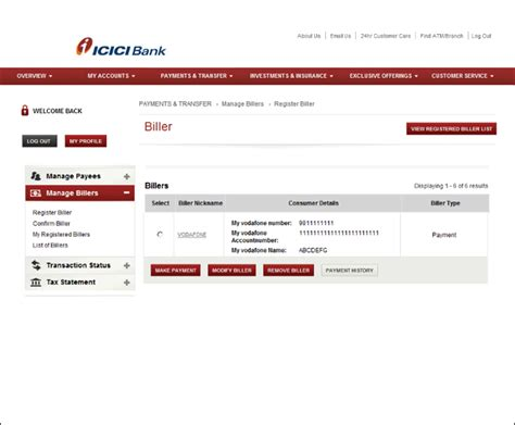 make icici credit card payment icici credit card payment through neft infocard co
