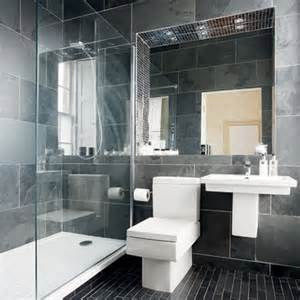 Black And Grey Bathroom Ideas by 30 Black And Grey Bathroom Tiles Ideas And Pictures