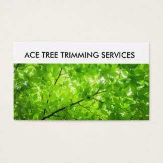 Tree Trimmer Service Business Card Templates by Green Trim Business Cards Templates Zazzle