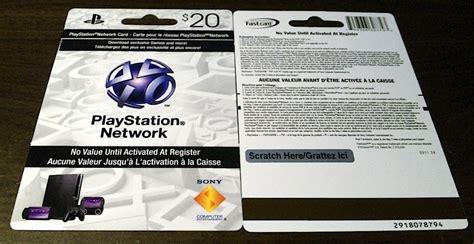 Playstation 4 Gift Card Canada - les cartes pour ajouter de l argent 224 votre compte playstation