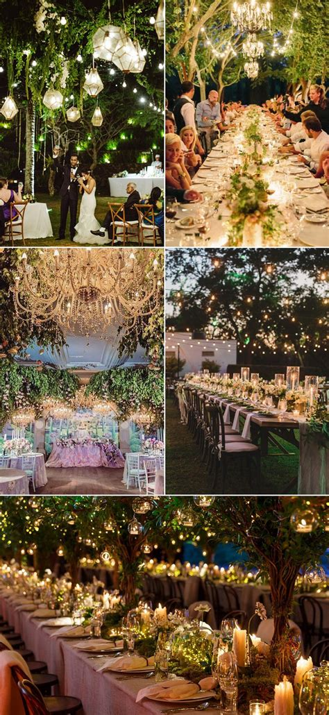 Forest Wedding Concept by 32 Decoration Ideas To Create A Magical Tale