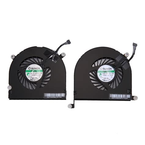 macbook pro cooling fan 1 pair replacement for macbook pro 17 inch a1297 2009