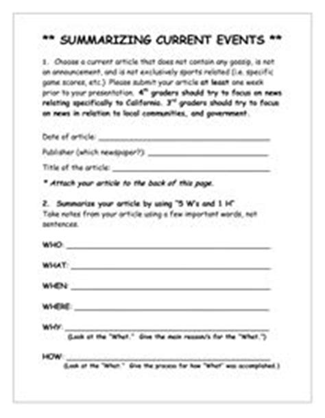 1000+ ideas about Current Events Worksheet on Pinterest